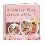 little girl and flower - 6x6 Photo Book (20 pages)