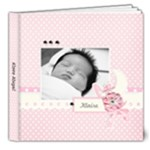 8x8 DELUXE: Precious Baby Girl - 8x8 Deluxe Photo Book (20 pages)