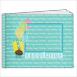 7x5 - Birthday Brag Book (BOY) - 7x5 Photo Book (20 pages)