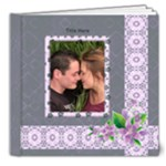 Delightful shades of Violet Deluxe 8x8 (20 page) Book - 8x8 Deluxe Photo Book (20 pages)