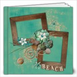 Beach/vacation/travel 12x12 Album - 12x12 Photo Book (20 pages)