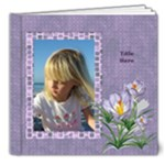 Elegant Deluxe Photo book  8x8 (20 page) - 8x8 Deluxe Photo Book (20 pages)