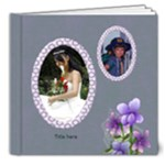 Memories in mauve Deluxe 8x8 (20 page) Book - 8x8 Deluxe Photo Book (20 pages)