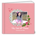 8x8 DELUXE: My Sweet Princess (Multiple Pics) - 8x8 Deluxe Photo Book (20 pages)