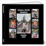 Disney World 2010 - 12x12 Photo Book (40 pages)