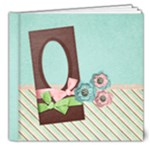 Baby Shower/Pink/Blue- 8x8 DELUXE Album - 8x8 Deluxe Photo Book (20 pages)
