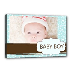 baby boy - Canvas 18  x 12  (Stretched)