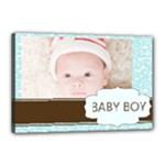 baby boy - Canvas 18  x 12  (Stretched)