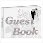 Wedding 9x7 Guest Book - 9x7 Photo Book (20 pages)