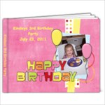 Kinsleys 3rd birthday party - 7x5 Photo Book (20 pages)