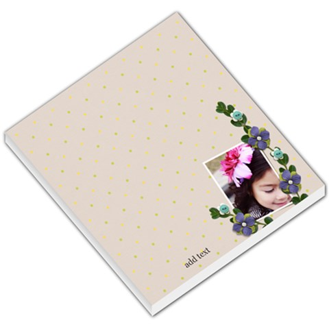 Small Memo Pads   In The Garden 2 By Jennyl   Small Memo Pads   Sf3zqzglnppg   Www Artscow Com
