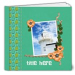8x8 DELUXE: Hot Summer Days - 8x8 Deluxe Photo Book (20 pages)