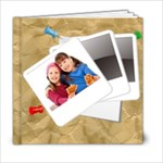 kids photo book - 6x6 Photo Book (20 pages)