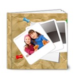 kids photo book - 6x6 Deluxe Photo Book (20 pages)