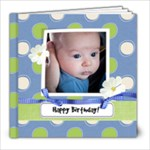 Twins  First Birthday - 8x8 Photo Book (20 pages)