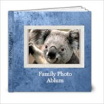 family book 1 - 6x6 Photo Book (20 pages)