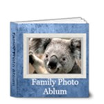 family book 1 - 4x4 Deluxe Photo Book (20 pages)