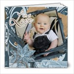 Gavin Birth Family 12m book - 8x8 Photo Book (20 pages)