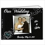 Rossiter Wedding - 9x7 Photo Book (20 pages)