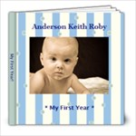 anderson - 8x8 Photo Book (20 pages)