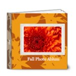 fall theme - 6x6 Deluxe Photo Book (20 pages)