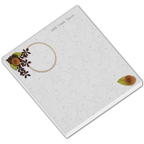 Small Memo Pad   Love Grows2 By Jennyl   Small Memo Pads   8f63pcxvx8dq   Www Artscow Com