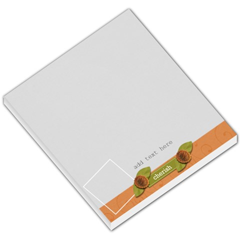 Small Memo Pad   Love Grows4 By Jennyl   Small Memo Pads   Gvd5vrp8n7ch   Www Artscow Com