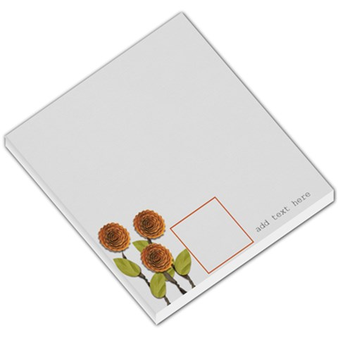 Small Memo Pad   Love Grows5 By Jennyl   Small Memo Pads   4dcvxtc3r120   Www Artscow Com
