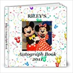 autograph book Riley - 8x8 Photo Book (60 pages)