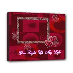 You Light Up my Life 8x10 stretched canvas - Canvas 10  x 8  (Stretched)