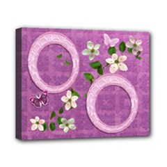 Spring purple flower 8x10 stretched canvas - Canvas 10  x 8  (Stretched)