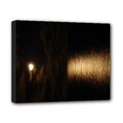 Heart Moon 8x10 stretched canvas - Canvas 10  x 8  (Stretched)