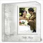 Our Wedding 12x12 Book (60 Pages)White - 12x12 Photo Book (60 pages)
