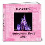 autograph book Kaycee - 8x8 Photo Book (60 pages)