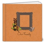8x8 DELUXE: Our Family - 8x8 Deluxe Photo Book (20 pages)