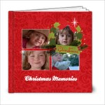 Christmas/Holiday -6x6 Photo Book (20 pages)