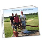 Minnesota in the summer - 7x5 Deluxe Photo Book (20 pages)