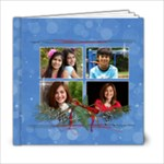 Christmas/Star- 6x6 Photo Book - 6x6 Photo Book (20 pages)