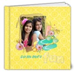 Summer Fun- 8x8 Deluxe Photo Book - 8x8 Deluxe Photo Book (20 pages)