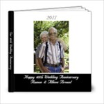 60th Wedding Anniversary - 6x6 Photo Book (20 pages)