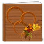 Autumn deluxe 8x8 photobook - 8x8 Deluxe Photo Book (20 pages)