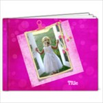 Pink Little Princess, 9x7 (20 Page) Book - 9x7 Photo Book (20 pages)