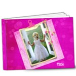 Pink Little Princess, Deluxe 9x7 (20 Page) Book - 9x7 Deluxe Photo Book (20 pages)