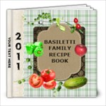 Recipe Book to copy - 8x8 Photo Book (20 pages)