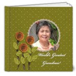8x8 DELUXE: World s Greatest Grandma / Mom - 8x8 Deluxe Photo Book (20 pages)