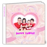 My Happy Family  - 8x8 Deluxe Photo Book (20 pages)