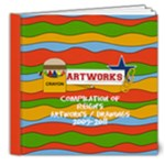 8x8 DELUXE : Artworks / Projects / Drawings - 8x8 Deluxe Photo Book (20 pages)
