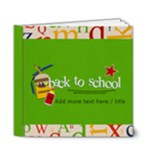 6x6 DELUXE: Back to School - 6x6 Deluxe Photo Book (20 pages)