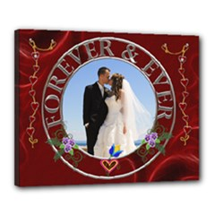 Forever & Ever 20x16 Stretched Canvas - Canvas 20  x 16  (Stretched)