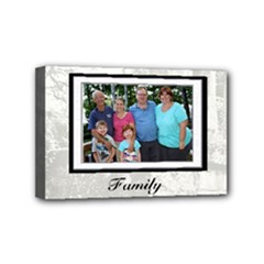 family frame - Mini Canvas 6  x 4  (Stretched)